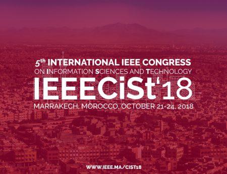 5th IEEE CiSt'2018